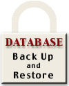 Database Back Up and Restore logo